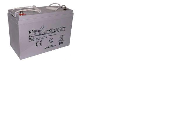 Akumulator żelowy do łódki KM Battery NPG 120Ah 12V