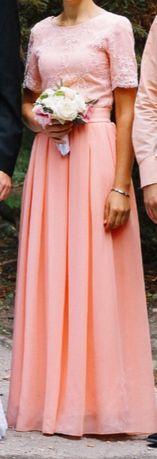 Гарна осіння сукня