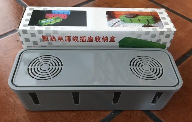Caixa Organização Tomadas c/Ventilação ! Nova Embalada