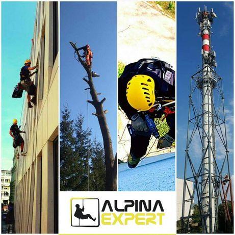 AlpinaExpert - Usługi wysokościowe Prace na wysokości