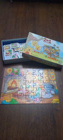 Puzzle i gra Kubuś Puchatek