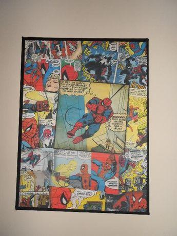 Quadro comics Spiderman (entre outros)