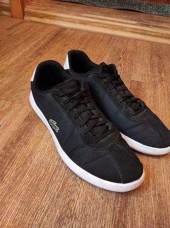 Продам чёрные кроссовки Lacoste. Супер качество!