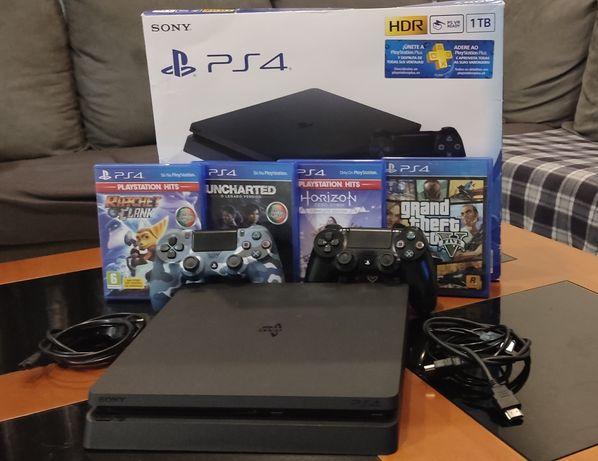 PlayStation 4 ( ps4 - 1tb )