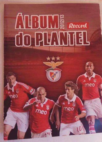 Album do Benfica - Plantel 2012/13 - SLB