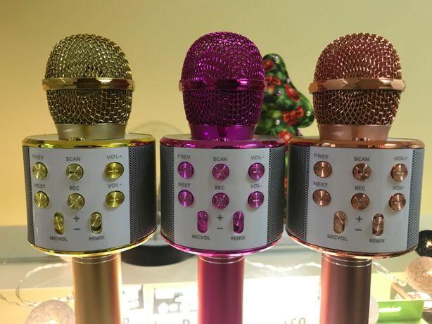 Детский караоке Bluetooth микрофон микрафон для детей петь с телефона