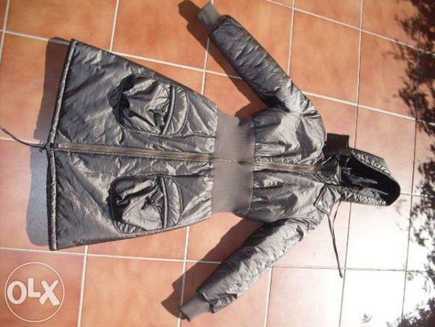 Casaco impermeavel a 3/4 de Senhora Bronze fabrico Nacional