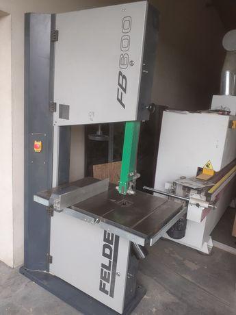 Piła taśmowa felder FB 600 piła formatowa maszyna stolarska