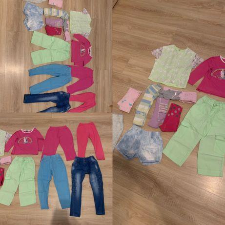Paczka ubrań dla dziewczynki 5/6 lat h&m/zara
