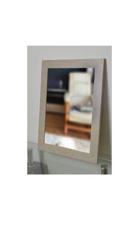 Duże piękne lustro 7003 w ramie drewnianej 80x160cm