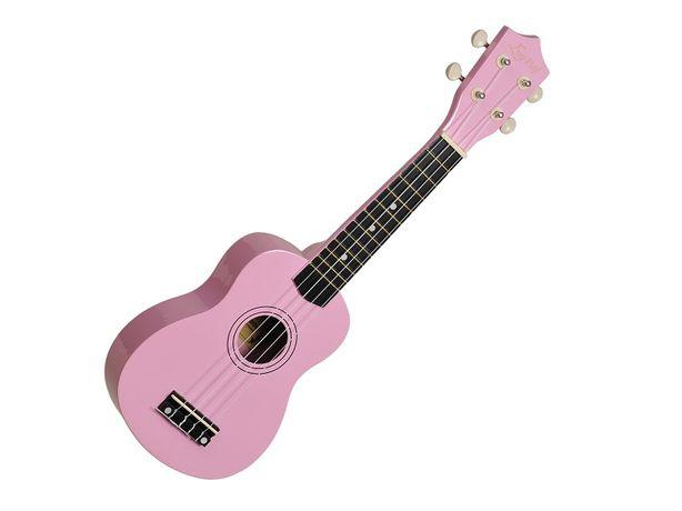 Ukulele sopranowe Ever Play UK-21 różowe