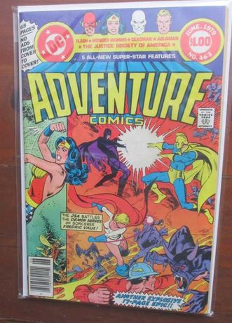 1979 - Adventure Comics #463 - Wonder Woman - DC - Aquaman
