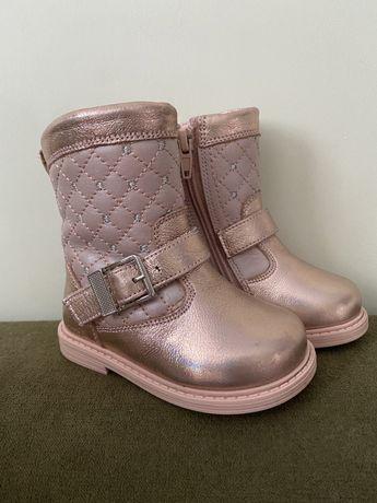 Обувь для девочки, искус.мех, размер 21