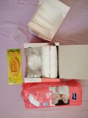 Лактац. прокладки, силиконовые Накладки д/груди, термометр- в остатках