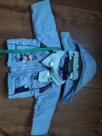 Курточка демисезонная на 1-2 года