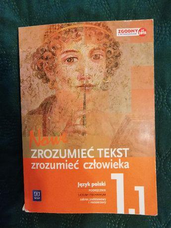 podręcznik nowe zrozumieć tekst zrozumieć człowieka język polski 1.1