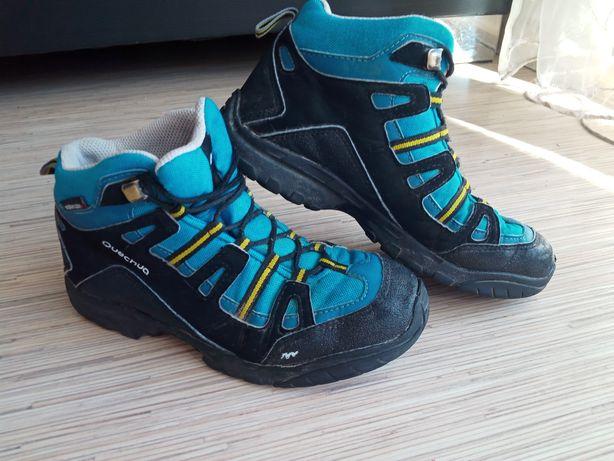 Buciki traperki rozm 33 21 cm półbuty trekkingowe buty górskie jesień