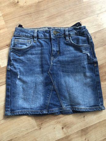 Spódniczka jeansowa 7 8 lat