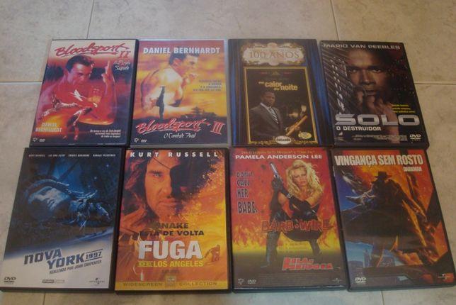 50 dvds originais alguns muitos raros