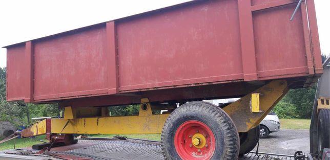 Przyczepa 1 osiowa 8 ton