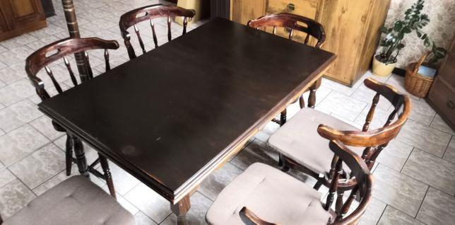Stół i krzesła Bonanza