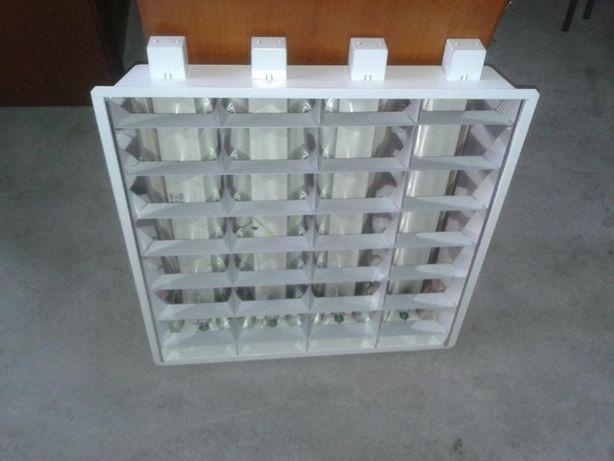 Armadura para lâmpadas fluorescente ou led