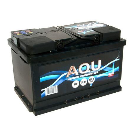 Akumulator 12V 74Ah 700A AQU Autopart Dowóz Montaż Płatność kartą 72Ah