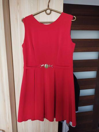 Sukienka czerwona r 44