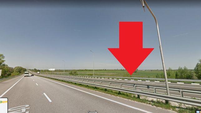 Продам фасадну ділянку на Житомирській трасі - 19 км від Києва