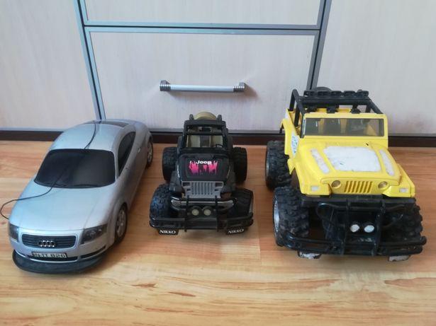 Zestaw Modeli RC Steering Alignment oraz 2× Jeep firmy Nikko