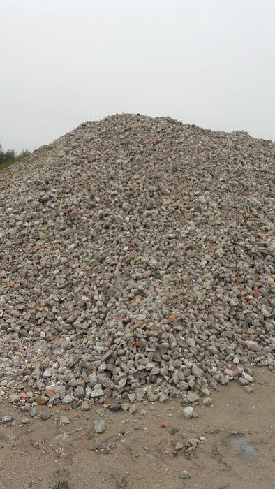 Gruz rozbiórkowy betonowy, ceglany, kruszony na drogę,kruszywo,szlaka Radom - image 1