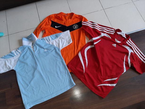 Koszulki sportowe NIKE ADIDAS 152