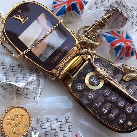 Telefon LV Mini Luxury LV M9 Flip phone