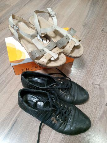 Отдам женские боссоножки 41р и туфли 39р.