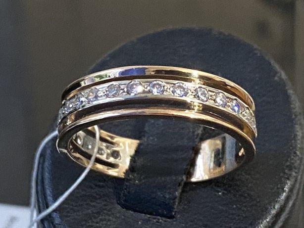 Золотое кольцо 585 проба акция распродажа