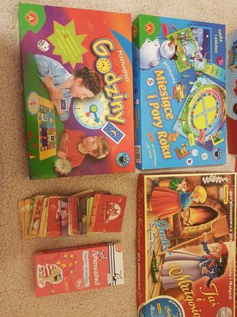 Gry planszowe, memory oraz gry edukacyjne