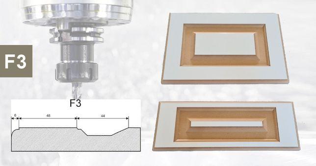 Fronty MDF, frezowanie CNC, wycinanie, panele 3D, ażury, usługi CNC
