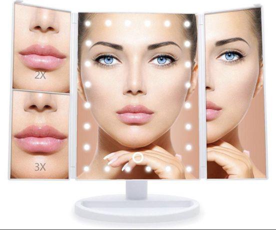 Новинка! Зеркало для макияжа с LED подсветкой