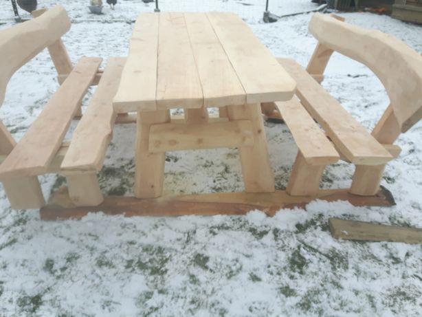 meble ogrodowe stoły i ławy