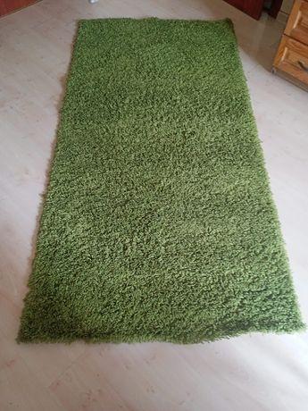 Dywan Shaggy zielony