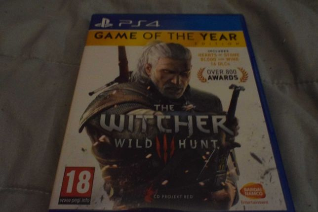 the witcher wild hunt G.O.T.Y ps4