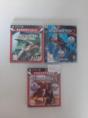 Uncharted 1,2,3 Ps3