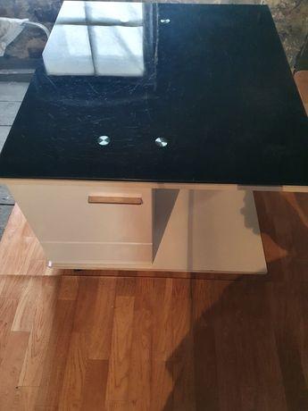 Ława-stolik z szafkami