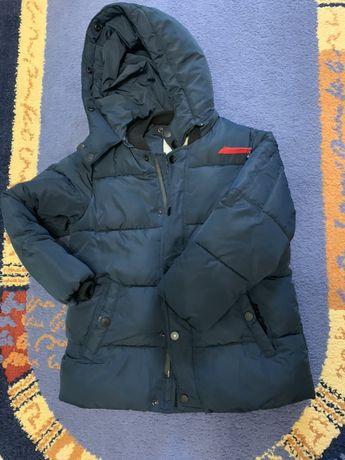 Zara зимняя курточка на мальчика