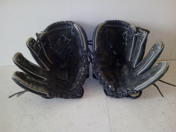 Luvas profissionais de Baseball usadas marca Easton