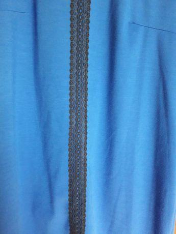 Sukienka niebieska 44