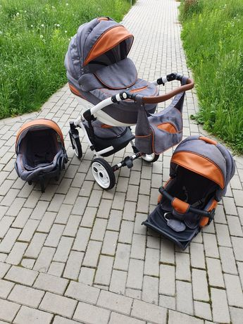 Wózek dziecięcy 3 w 1 + GRATISY