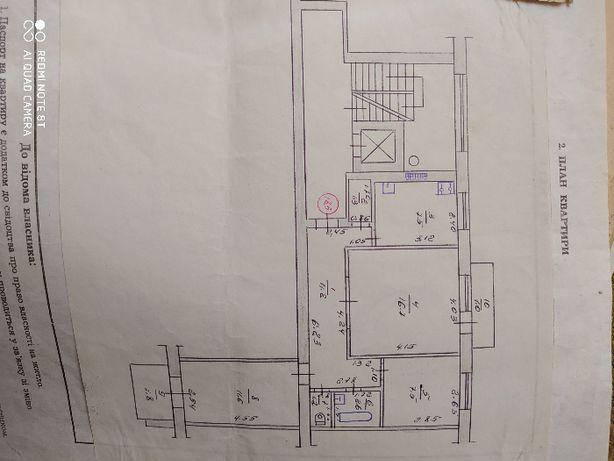 Продам 3х комнатную квартиру проспект Соборный 95.Горняк