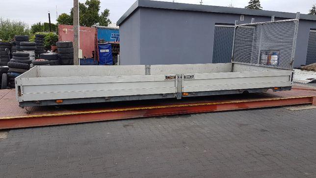 Paka zabudowa skrzynia ładunkowa 6,00x2,44m, rama 80cm