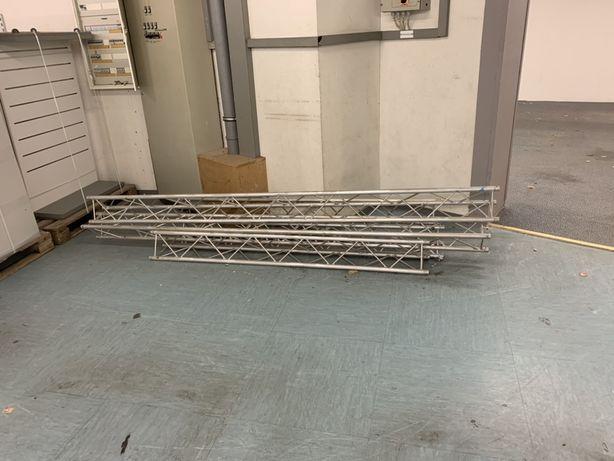 Konstrukcja aluminiowa trojnik 90stopni